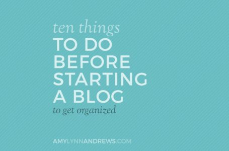 6 Practical Tips for Starting a Blog From Scratch