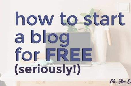 How to Start a Blog and Get It Out There