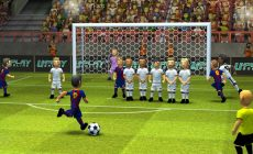 The Evolution of Soccer Games