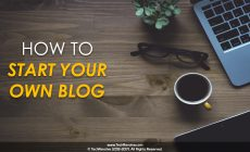 A Beginner's Guide To Starting Your Own Blog